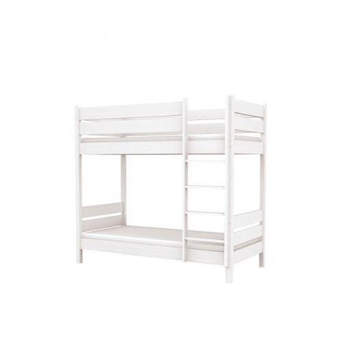 Łóżko piętrowe L2 90/200 - Baggi Decco - White ze sklepu DecoMania.pl