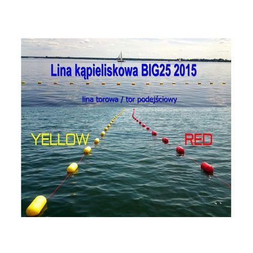 Lina kąpieliskowa Big 25 - żółta lub czerwona - produkt dostępny w Sklep Ratownik24.pl