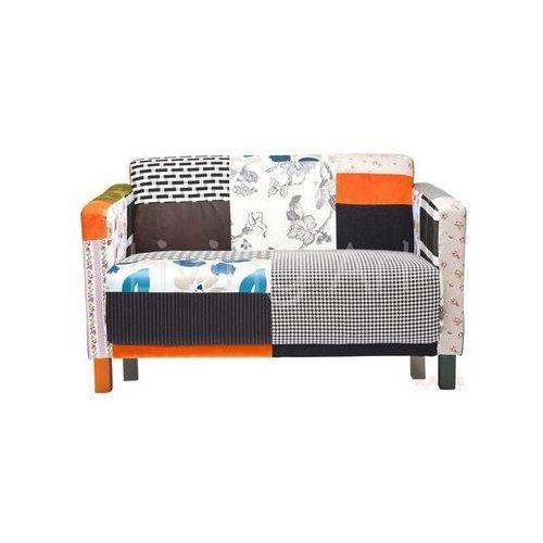 Sofa Patchwork Stripes 2-Seater, kare design