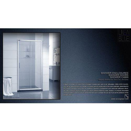 DRZWI PRYSZNICOWE AXISS GLASS AN6121D 1100mm (drzwi prysznicowe)