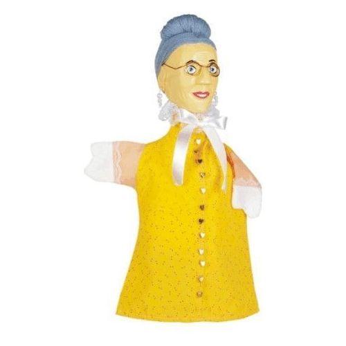 Pacynka na dłoń dla dzieci do teatrzyku- Babcia (pacynka, kukiełka)