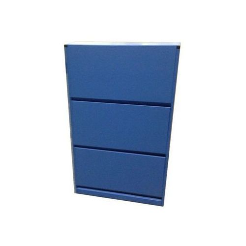 Szafka na buty EZEEONE SCARPIERA_BLU (pęknięcie) / niebieski / na 9 par butów / 60 x 14 x 100 cm z kategorii szafki na buty