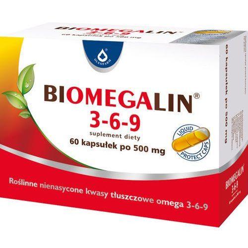 [kapsułki] Biomegalin 3-6-9 kaps. 1 g 60 kaps.