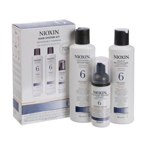 Nioxin zestaw pielęgnacyjny System 6 włosy przerzedzone grube po... - szczegóły w dr włos