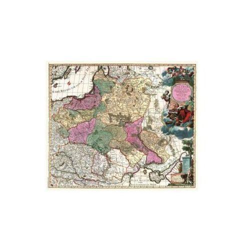 Mapa Królestwa Polskiego i Wielkiego Księstwa Litewskiego, C. Allard, 1696 r., produkt marki Golden Maps Publishing