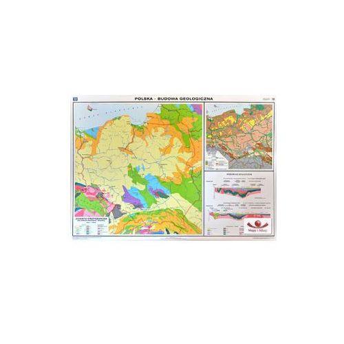 Polska. Budowa geologiczna. Mapa ścienna., produkt marki Nowa Era