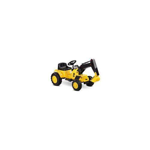 Toyz, Pojazd na akumulator, Digger Yellow ze sklepu Smyk