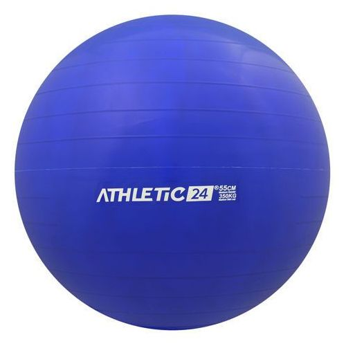 Classic 55 niebieski - PIłka fitness, produkt marki ATHLETIC24