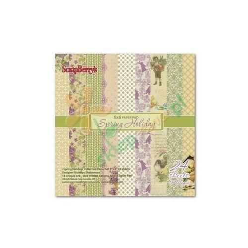 Oferta Zestaw papierów SPRING HOLIDAY 24 arkusze 15,2x15,2 cm