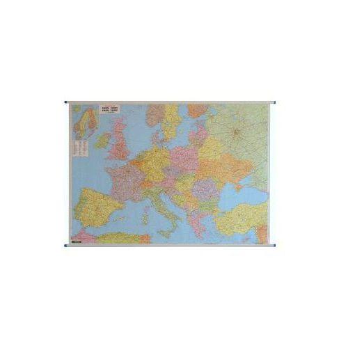 Europa mapa ścienna administracyjno-drogowa 1:2 600 000  & Berndt, produkt marki Freytag