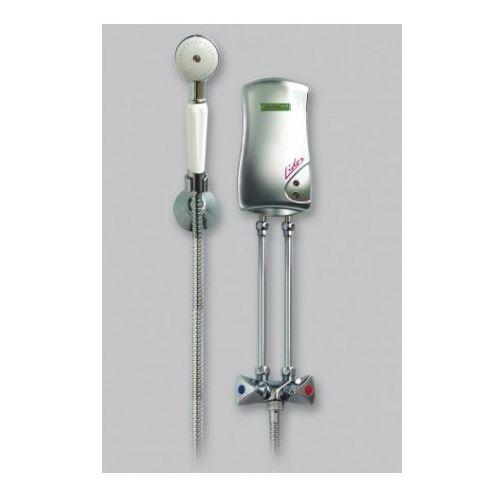 lider prysznicowy przepływowy ogrzewacz wody 4,5kw, bezciśnieniowy, biały 251-00-451, marki Elektromet