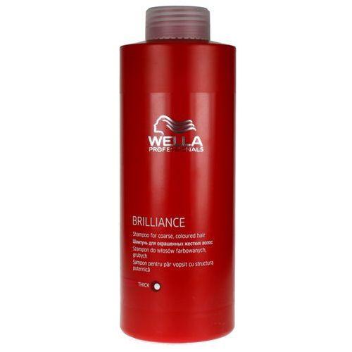 Wella Brilliance - odżywka do grubych włosów farbowanych 1000ml - produkt z kategorii- odżywki do włosów