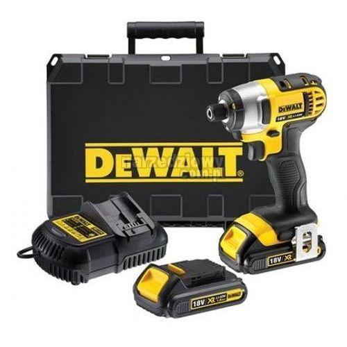 Produkt DEWALT Kompaktowa zakrętarka udarowa XR 18 V (2 akumulatory Li-Ion 2,0 Ah) DCF886D2
