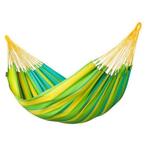 Hamak pojedynczy La Siesta Sonrisa lime, produkt marki Produkty marki La Siesta