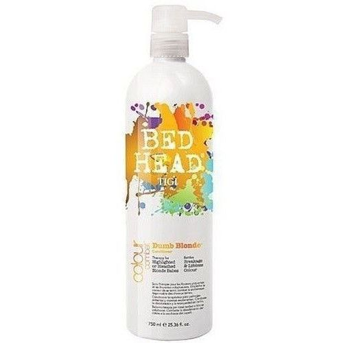 Produkt z kategorii- odżywki do włosów - Tigi Bed Head Combat Dumb Blonde Conditioner 200ml W Odżywka do włosów Do blond włosów + Próbka perfum GRATIS + Wysyłka od 6zł!