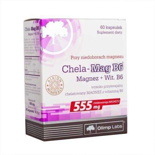 Chela-Mag B6 kaps.x 60 /Olimp, postać leku: kapsułki