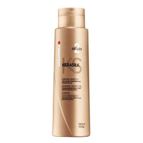 Goldwell Keratin Treatment Smooth Medium - keratynowy zabieg prostowania 500ml - produkt z kategorii- odżywki do włosów