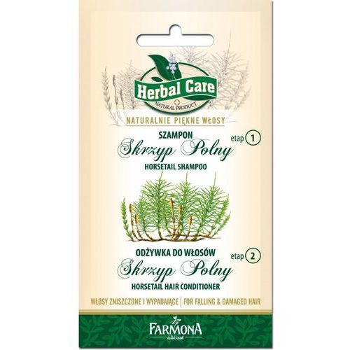 Herbal Care Dwupak Szampon Skrzyp Polny + Odżywka do włosów Skrzyp Polny 2x7ml - produkt z kategorii- odżywki do włosów