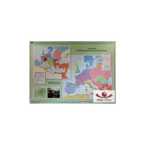 Europa wczesnośredniowieczna / Europa Karola Wielkiego. Mapa ścienna, produkt marki Nowa Era