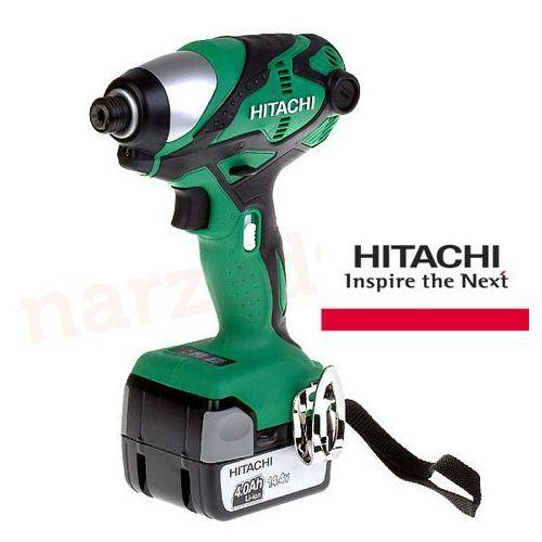 HITACHI Zakrętarka udarowa akumulatorowa 14,4V 2x4Ah (WH14DSDL TW), kup u jednego z partnerów