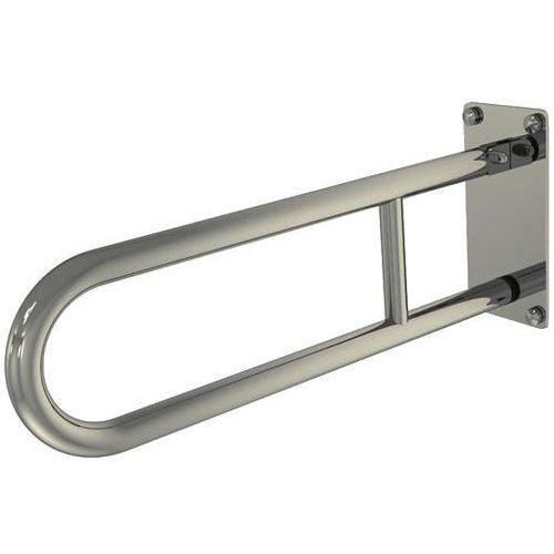 Poręcz łazienkowa uchylna dla niepełnosprawnych 750 mm SNM