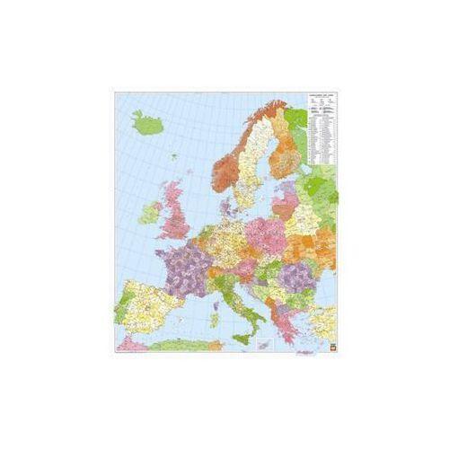 Europa mapa ścienna kody pocztowe ARKUSZ 1:3 700 000  & Berndt, produkt marki Freytag