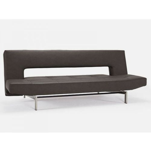 Sofa Wing brązowa 592 nogi chromowane  742001592-742001-0-2, INNOVATION iStyle