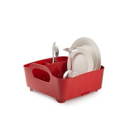 Produkt z kategorii- suszarki do naczyń - Umbra TUB Suszarka - Ociekacz do Naczyń - Czerwony