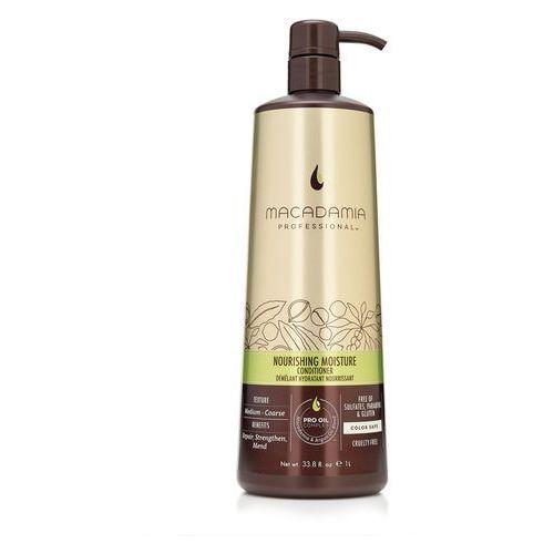 Macadamia Nourishing Moisture - nawilżająca odżywka do włosów szorstkich 1000ml - produkt z kategorii- odżywki do włosów
