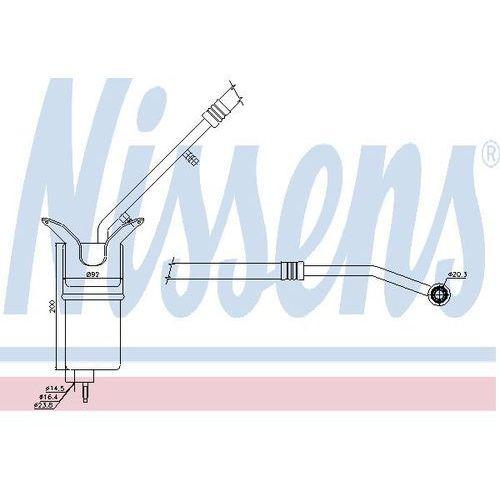 Towar z kategorii: osuszacze powietrza - Osuszacz, klimatyzacja NISSENS 95330