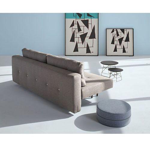 Istyle Recast Sofa Rozkładana, szara tkanina 216, nogi drewniane - 742051216-3-2, Innovation