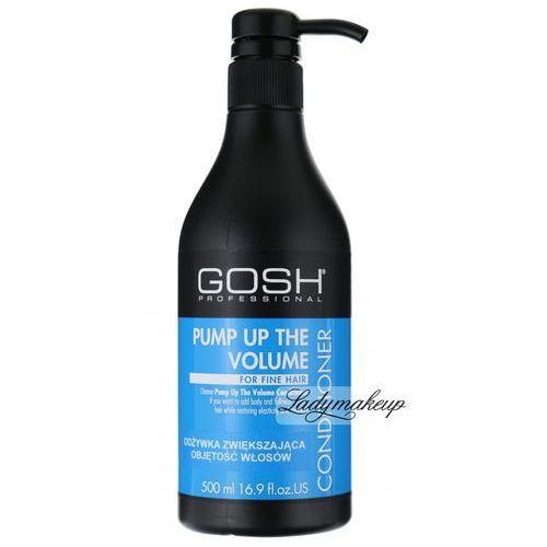 GOSH - Pump Up The Volume Conditioner - Odżywka zwiększająca objętość włosów - produkt z kategorii- odżywki do włosów