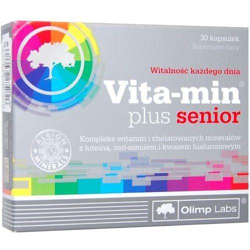 Olimp Vita-Min Plus Senior kaps. - 30 kaps., postać leku: kapsułki