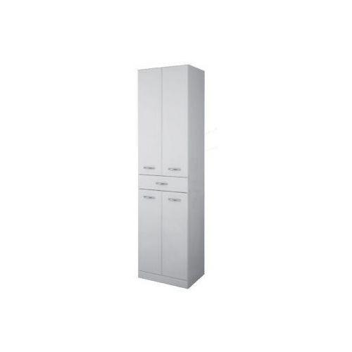 Produkt z kategorii- regały łazienkowe - Elita Aqua Line słupek łazienkowy 50x35,5x187 wysoki biały 16401