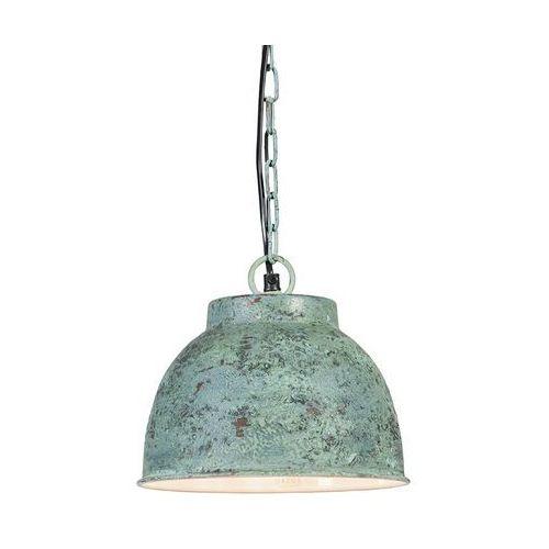 Lampa wisząca Vintage S antyczna zielona - sprawdź w lampyiswiatlo.pl