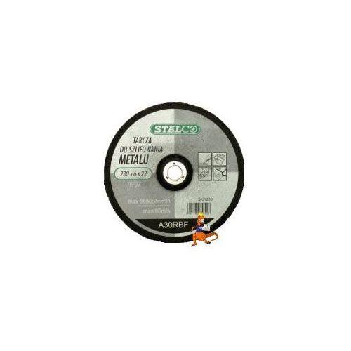 Oferta TARCZA DO SZLIFOWANIA METALU 230x6, 0x22MM FIRMA STALCO (S-61230)
