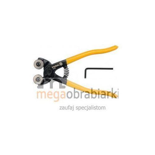 Produkt z kategorii- elektryczne przecinarki do glazury - VOREL Szczypce do cięcia glazury 200 mm