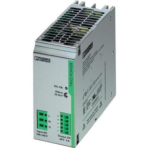 Artykuł Zasilacz na szynę Phoenix Contact TRIO-PS/1AC/48DC/5, 48 V,5A z kategorii transformatory