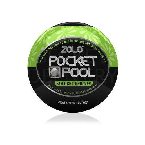 Zolo Pocket Pool Straight Shooter mini masturbator - oferta [1514e5095172045b]