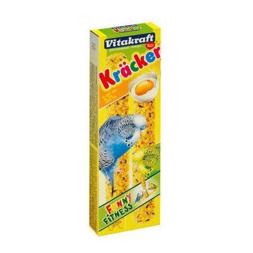 Kracker 2szt Papuga falista Jajeczny 60g [10609]