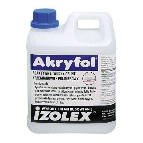 Izolex AKRYFOL grunt pod folia w płynie 10 kg (izolacja i ocieplenie)