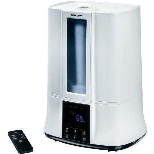 Artykuł Nawilżacz powietrza z funkcją podgrzewania Topcom, 0.3 l/h, 30 m², 50 W, Biały, 5 l z kategorii nawilżacze powietrza