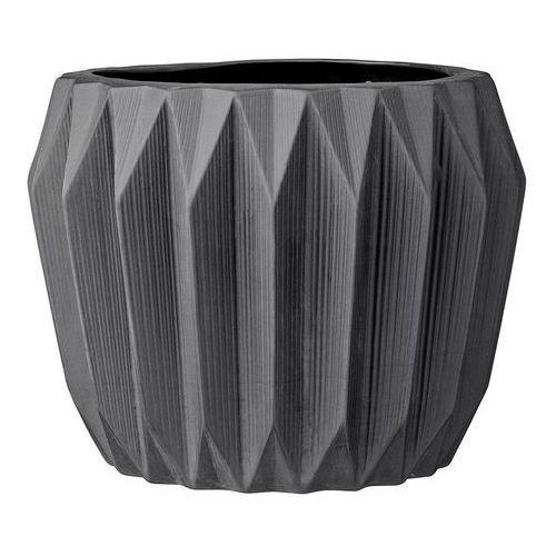 Doniczka ceramiczna, czarna, 19.5 x 15 cm 21900019, produkt marki Bloomingville