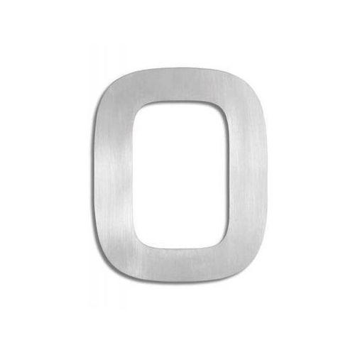 SIGNO Stalowy Numer Cyfra na Dom - Zero - 0, produkt marki Blomus
