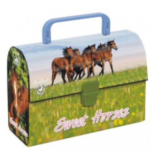 Kuferek Sweet Horses - Dostawa zamówienia do jednej ze 170 księgarni Matras za DARMO - oferta [45c8612125e5d457]