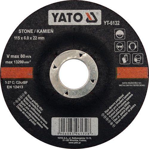 Oferta Tarcza do szllifowania kamienia 115x6,0x22 mm YT-6132