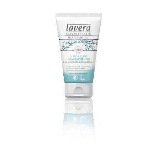 Lavera Basis Sensitiv odżywka do włosów z bio olejem awokado i bio mleczkiem migdałowym 150 ml - produkt z kategorii- odżywki do włosów
