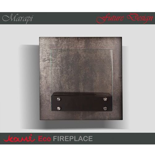 Biokominek Marapi Silver by Kami - oferta [150fd44a931f73d1]