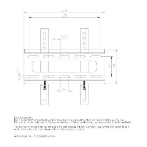 Towar Uchwyt  LCD/LED, VESA 200X200 FIX L z kategorii uchwyty i ramiona do tv