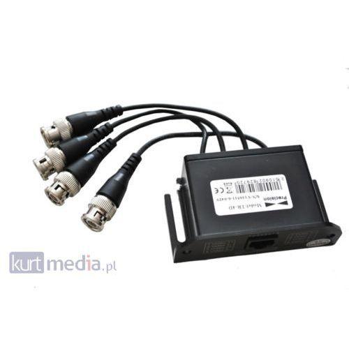 System przekazu sygnału AV Hikvision Transformator video TR-4D Darmowy odbiór w 16 miastach! z kategorii Tra